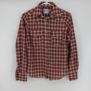 Vtg Rockmount Tru-West Ranch Wear Western Shirt